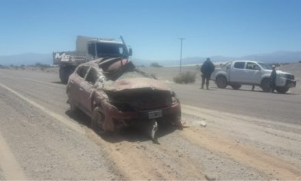 FATAL ACCIDENTE EN LA RUTA QUE CONDUCE A PALO BLANCO